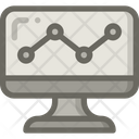 Analytic Statistic Report Icon