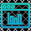 Web Webpage Analytics Icon