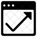 Data Analysis Web Analysis Website Dashboard Icon