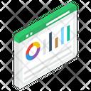 Web Analytics Business Website Data Analytics Icon