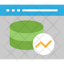 Web Analytics Web Data Analysis Data Analytics Icon