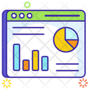 Web Analytics Business Website Business Webpage Icon