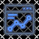 Web Analytics Analysis Icon