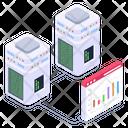 Online Data Data Analytics Web Analytics Icon