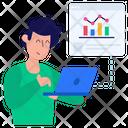 Business Analytics Web Analytics Web Chart Icon
