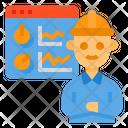 Web Analyzer Analytics Analysis Icon