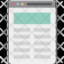 Web Article Icon