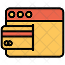 Web Website Bill Payment Icon