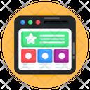 Web Content Web Layout Web Quality Icon