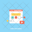 Web Banners Ad Icon