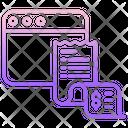 Web Bills Icon