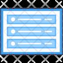 Web Blog Web Wireframe Web Design Icon
