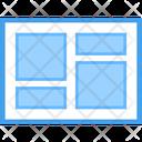 Web Blog Web Design Web Layout Icon