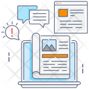 Article Writing Content Writing Blog Writing Icon