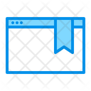 Web bookmark Icon