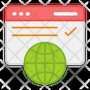 Web Browse Icon