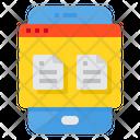 Files Smartphone Bill Icon