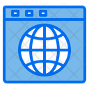 World Web Browser Seo Icon