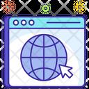 Web Browser Online Website Www Icon