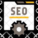 Seo Sem Internet Marketing Icon