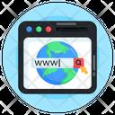 Web Domain Web Browser Web Search Icon