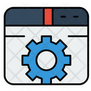Web Browser Setting Icon