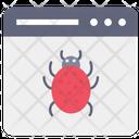 Web Bug Web Virus Bug Website Icon
