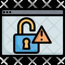 Web Bug Error Icon