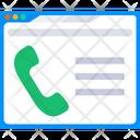 Web Call Icon