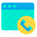Web Call Icon