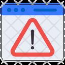 Web Caution Web Alert Web Warning Icon