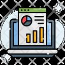 Global Analysis Web Statistics Icon