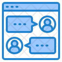 Communication Chat User Icon