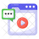 Online Chat Web Chat Web Message Icon