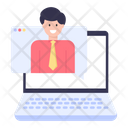 Online Chat Web Chat Online Conversation Icon