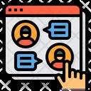 Web Chat Icon