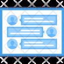 Web Chatting Icon