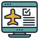 Web Check-in Icon