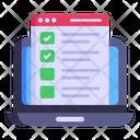 Web Checklist Icon
