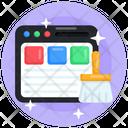 Web Clean Icon