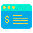 Web Click Web Payment Icon