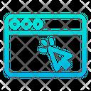 Click Pointer Screen Icon