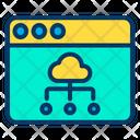 Cloud Web Web Page Icon