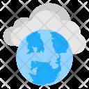 Global Net Cloud Icon