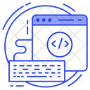 Code Optimization Development Code Html Coding Icon