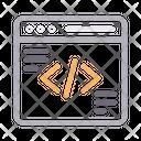 Coding Programming Script Icon