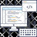 Web Development Web Design Custom Coding Icon