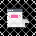 Web Development Design Icon