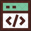 Web Coding Web Development Website Coding Icon