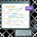 Web Coding Html Coding Php Code Icon